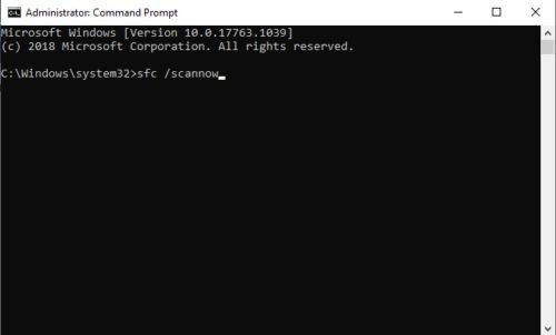 Reparar un archivo o restablecer servicio