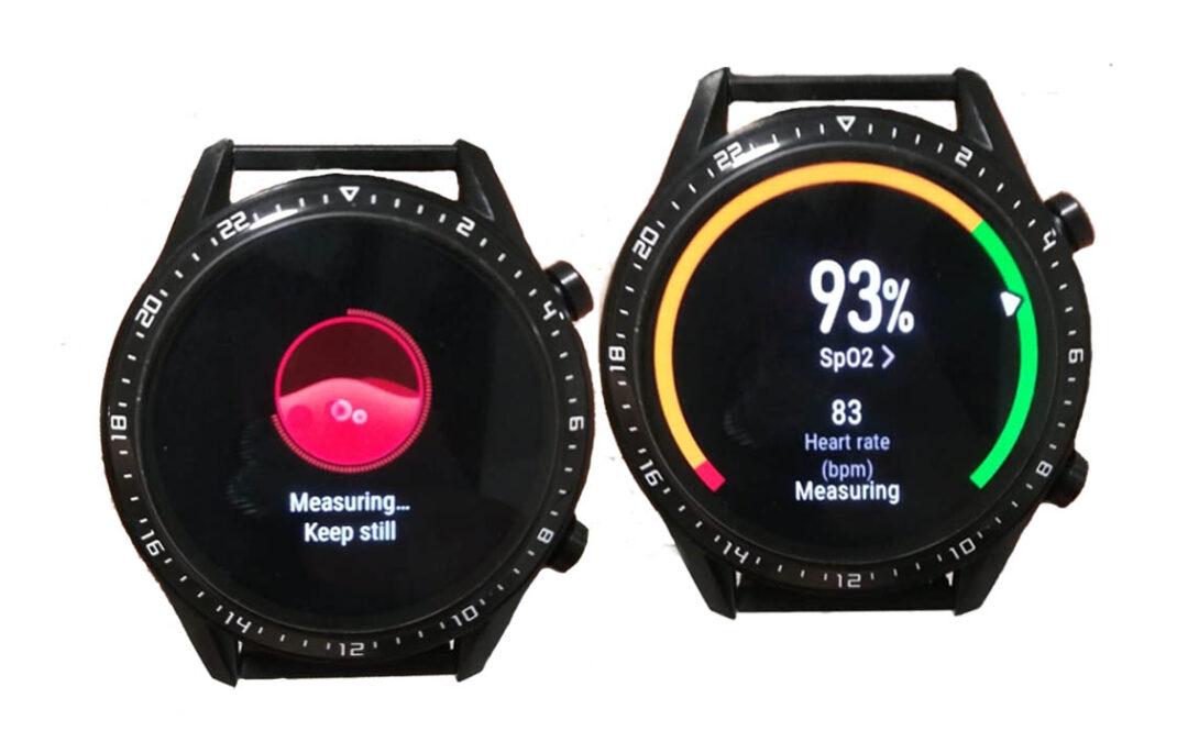 SPO2 en el Smartwatch GT2