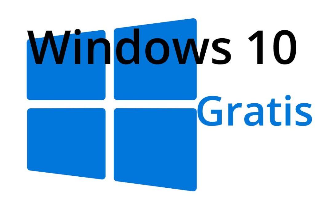 Obtener Windows 10 de forma gratuita