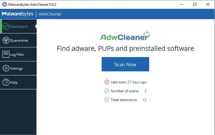 adwcleaner eliminador de virus de anuncios
